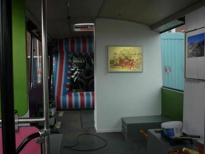 Opbouw. Werk van Erik Odijk.
