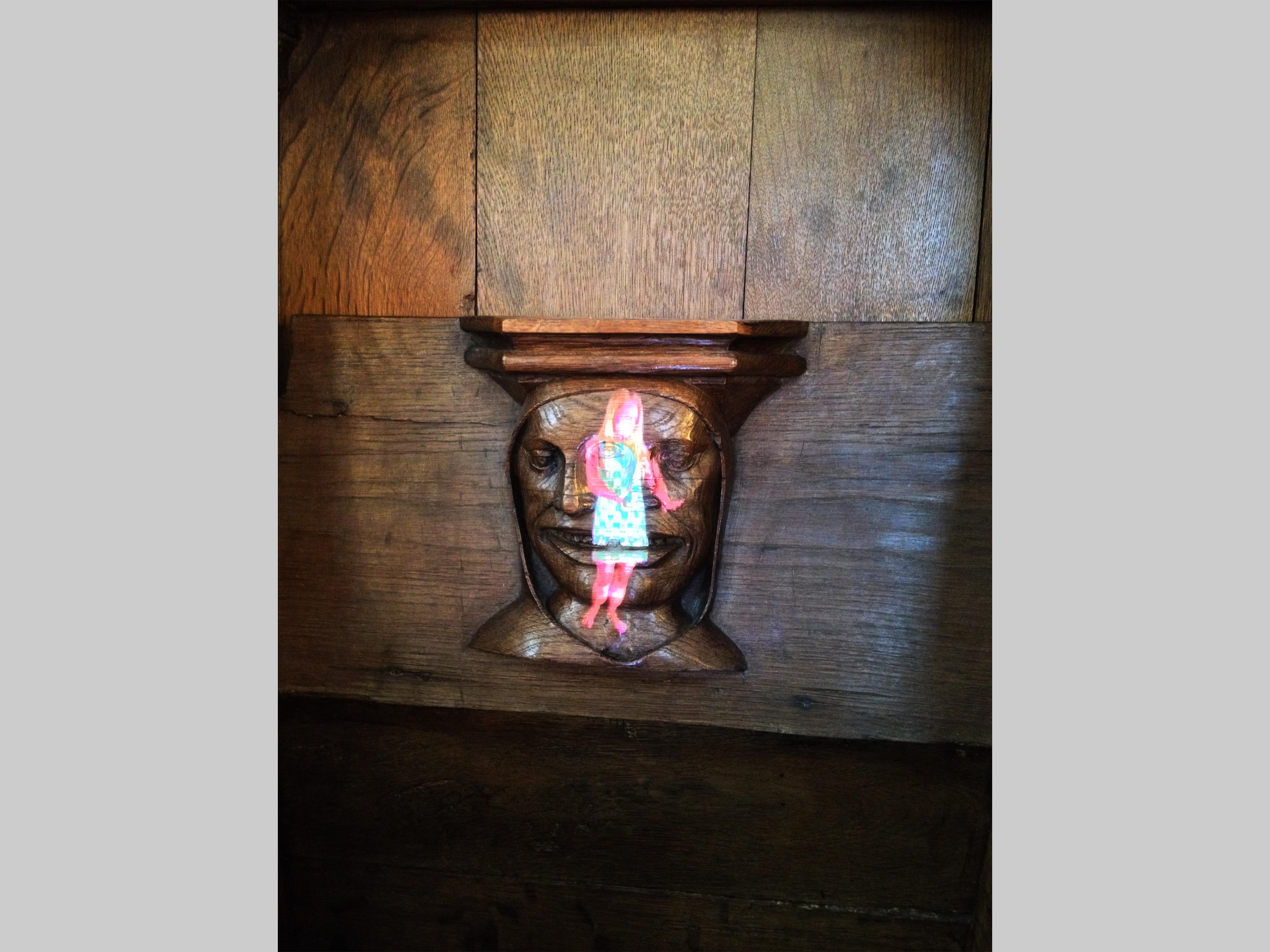 Tony Oursler/ Oude Kerk nov 2014