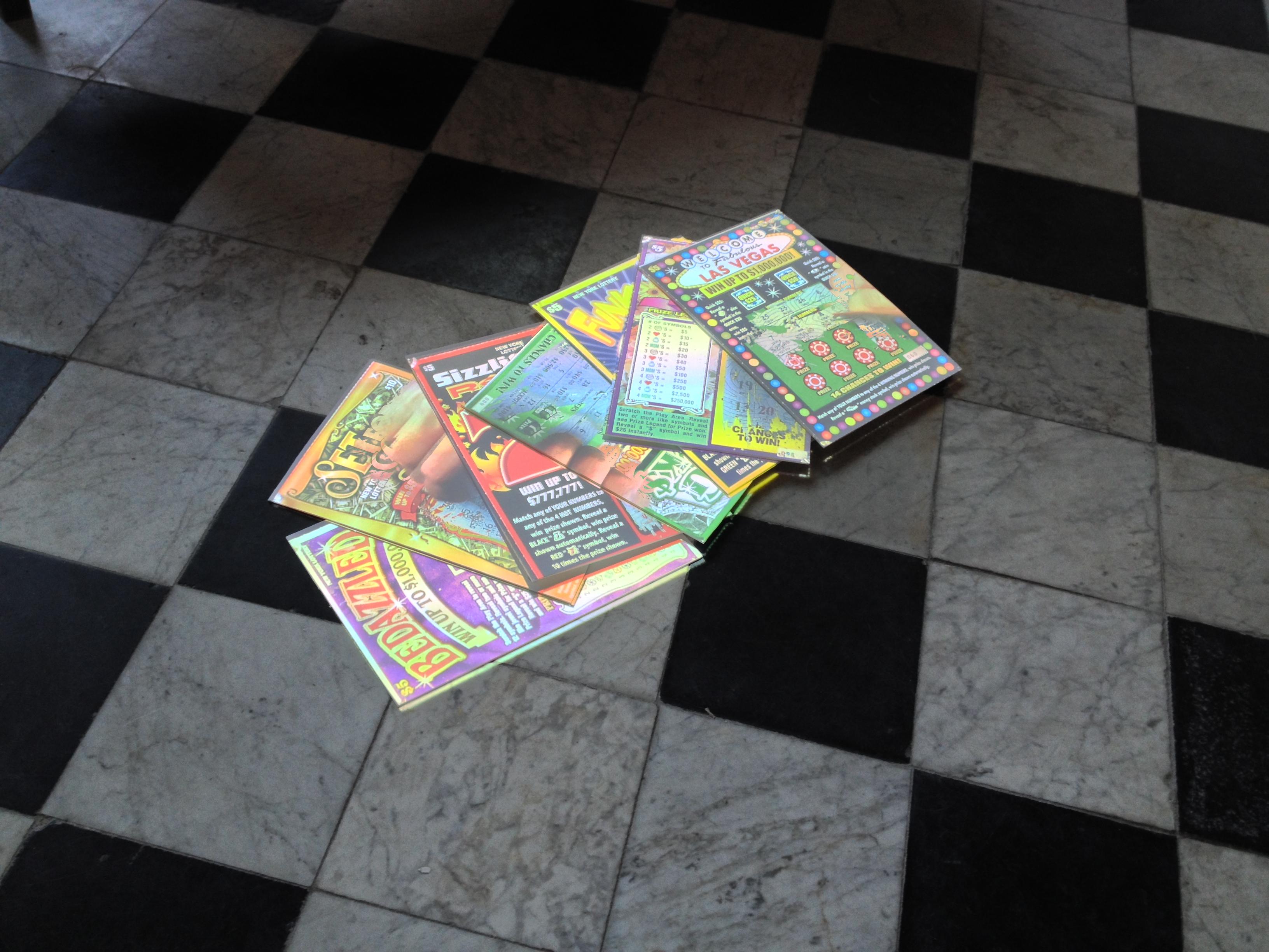 'Scratch Cards' Tony Oursler/ Oude Kerk nov 2014